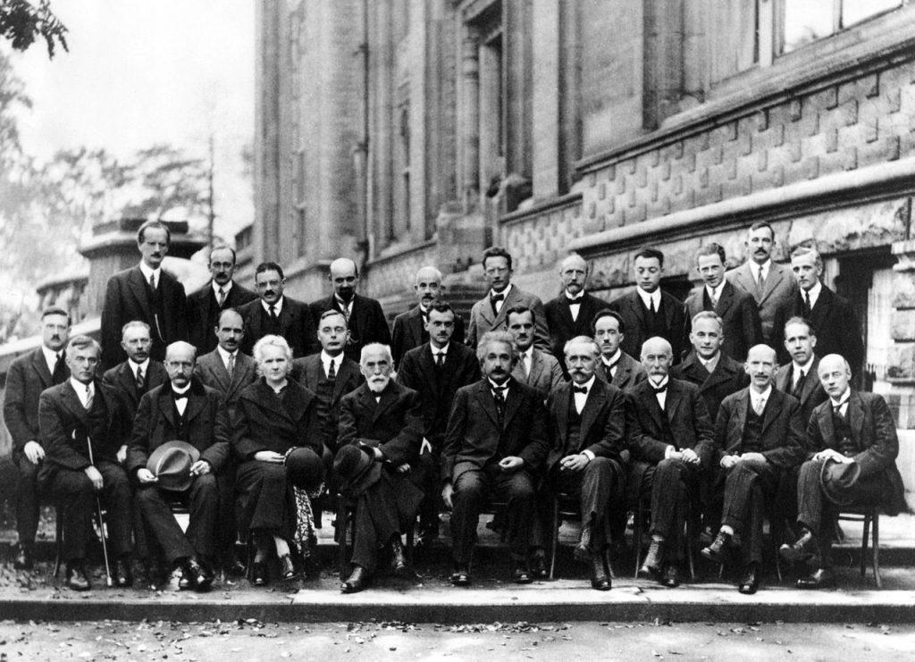 Hội nghị Solvay lần thứ 5 tại Bruxelles, Bỉ, tháng 10 năm 1927