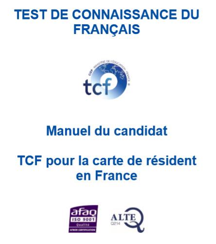 TCF thẻ định cư ::: TCF carte de résident