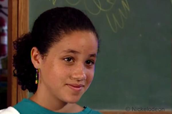 Meghan Markle năm 11 tuổi